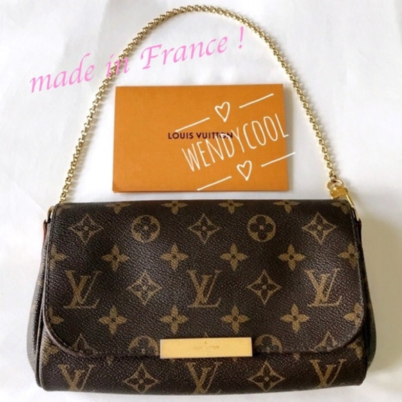 Images For Louis Vuitton Made In France >> Louis Vuitton Monogram Favorite Discontinued Bag